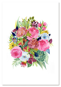 Lovely Bouquet Art Print