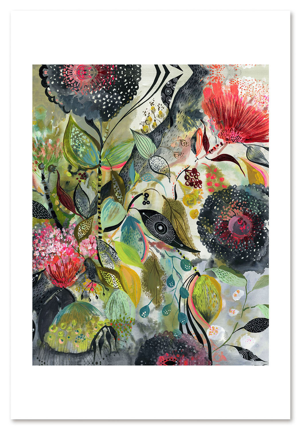 Night Garden Art Print