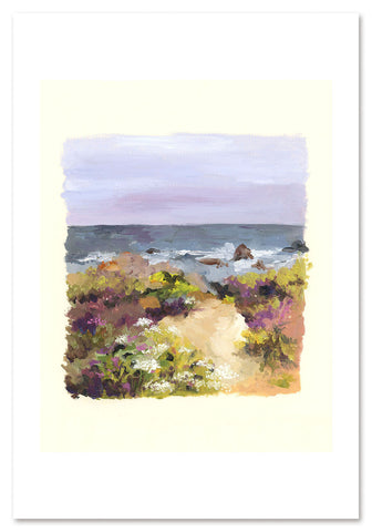 Northern Coast Art Print
