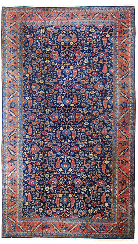 Antique Tabriz Oversize-Turco Persian Rug Company Inc.