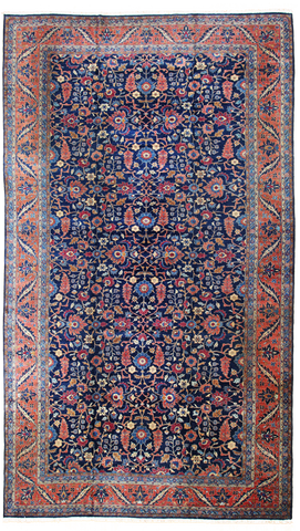 Antique Tabriz Oversize