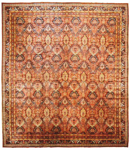 Antique Austrian Rug c1900-Turco Persian Rug Company Inc.