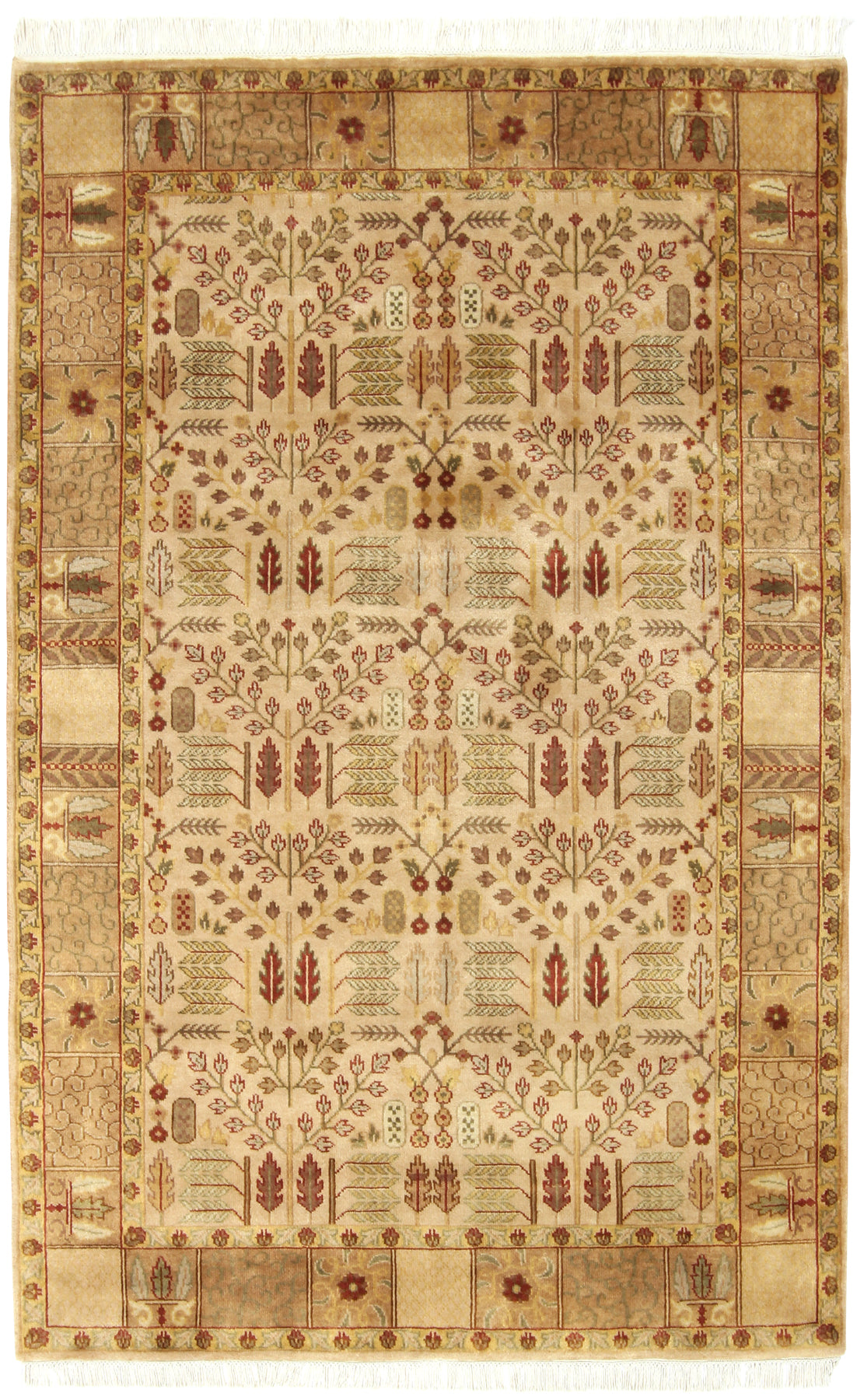 Garden Design Rug India-Turco Persian Rug Company Inc.