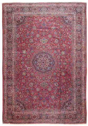 Antique Oversize Kashan