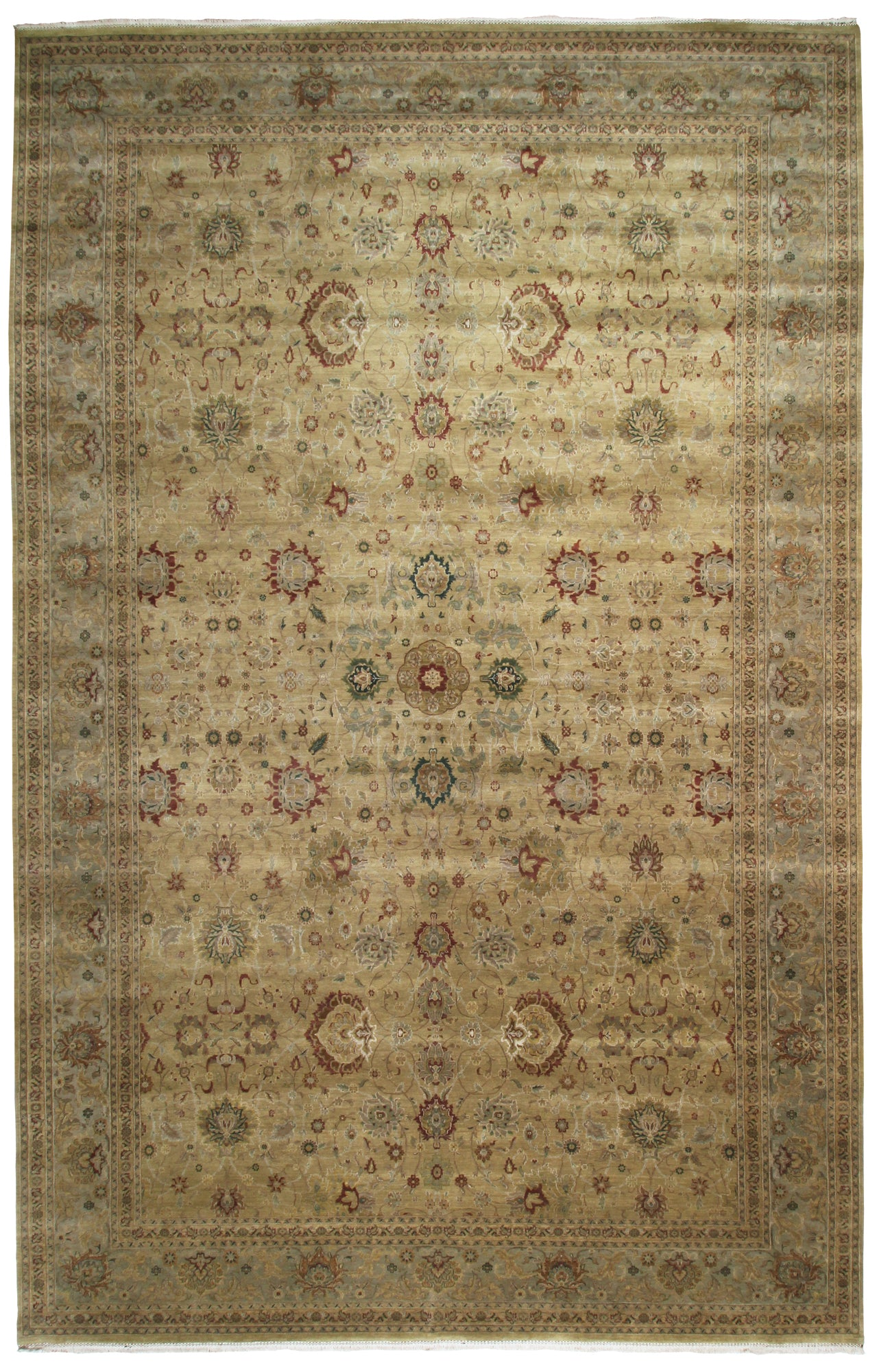 Oversize Tabriz Design Rug India