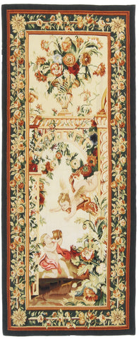 Chinese Tapestry Runner-Turco Persian Rug Company Inc.
