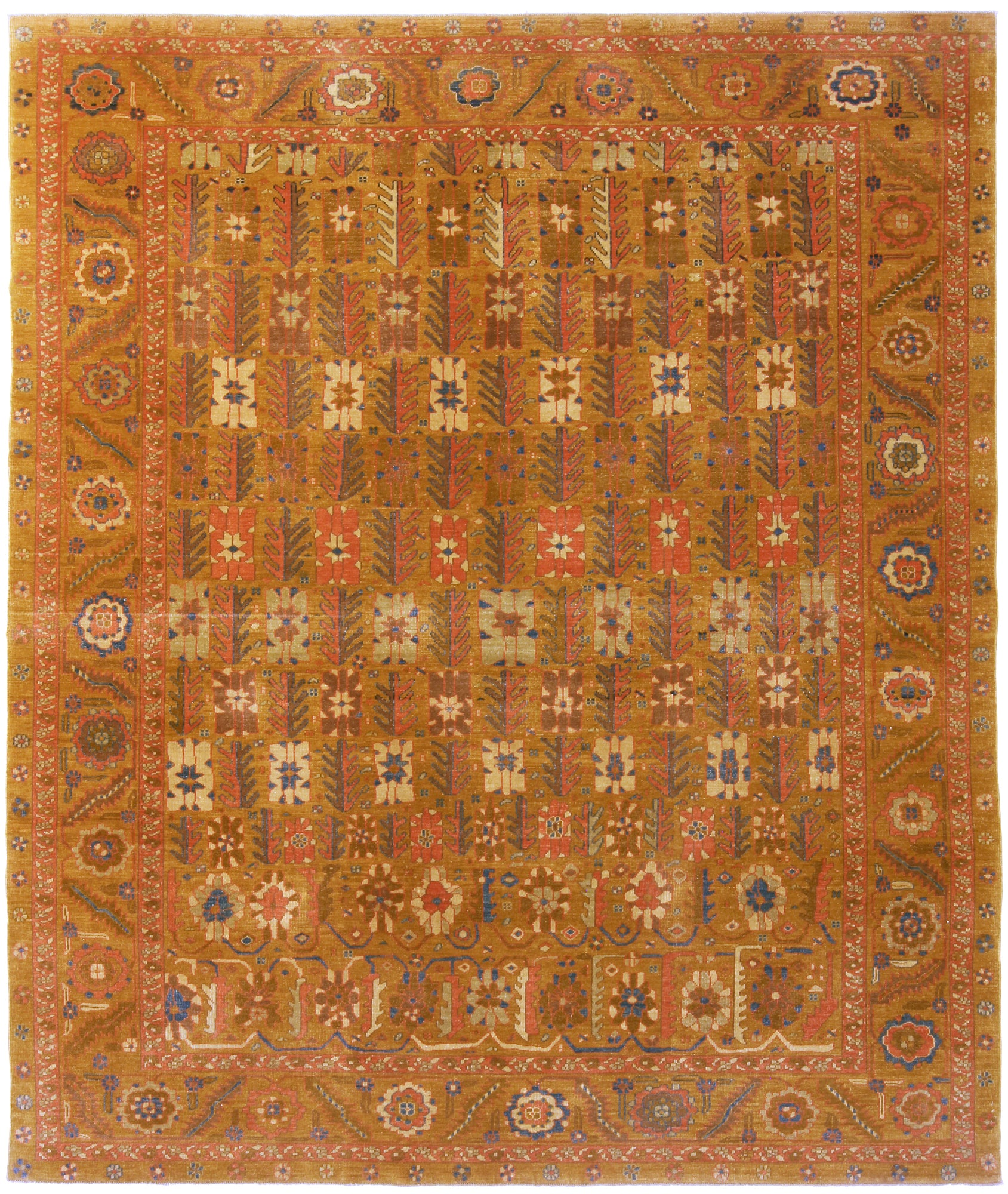 Turkish Tabriz Design Rug