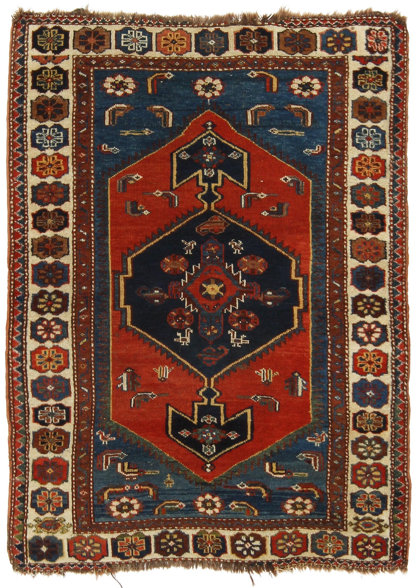 Antique Caucasus Rug-Turco Persian Rug Company Inc.