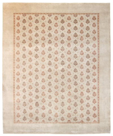 Repeating Floral Rug