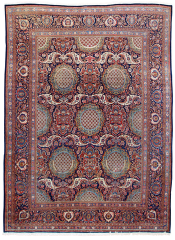 Kashan Antique-Turco Persian Rug Company Inc.