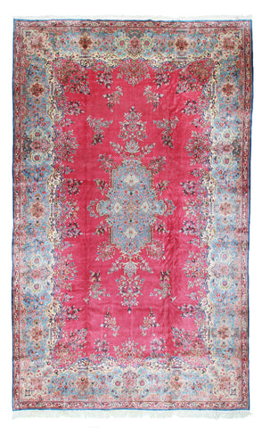 Kerman Rug Aubusson Design-Turco Persian Rug Company Inc.