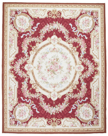Aubusson Design Needlepoint Rug-Turco Persian Rug Company Inc.