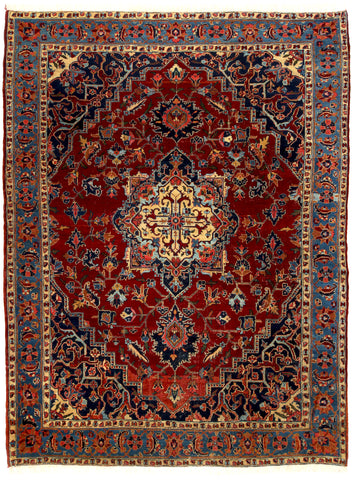 Antique Heriz Rug-Turco Persian Rug Company Inc.