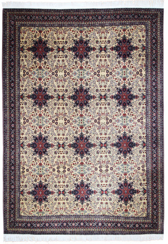 Afghan Repeated Medallions-Turco Persian Rug Company Inc.