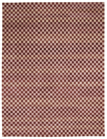 Terra Checker 9x12-Turco Persian Rug Company Inc.