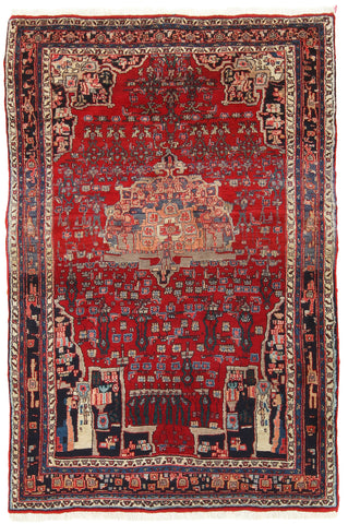 Semi-Antique Bidjar Rug-Turco Persian Rug Company Inc.