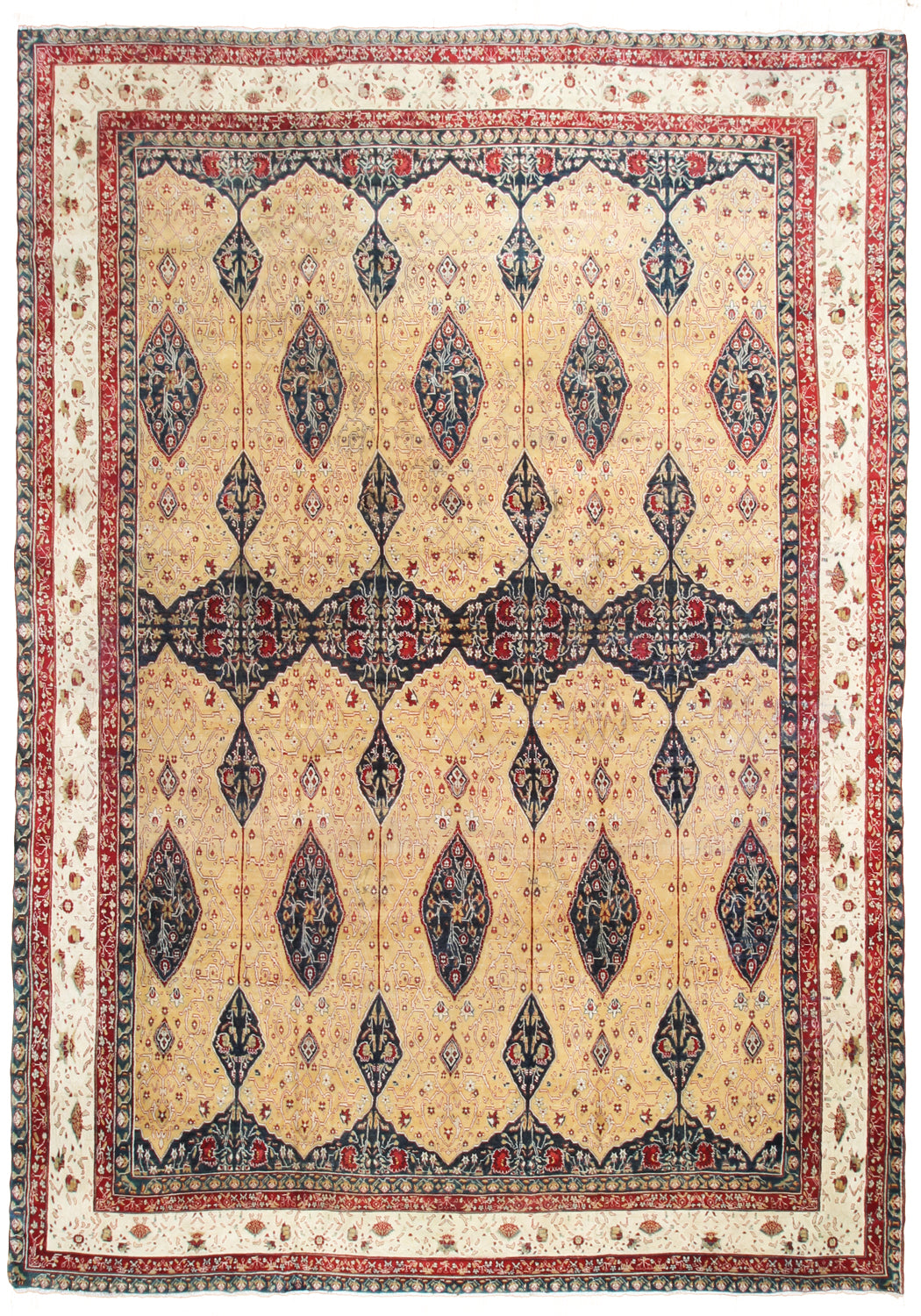 Agra Antique Oversize-Turco Persian Rug Company Inc.