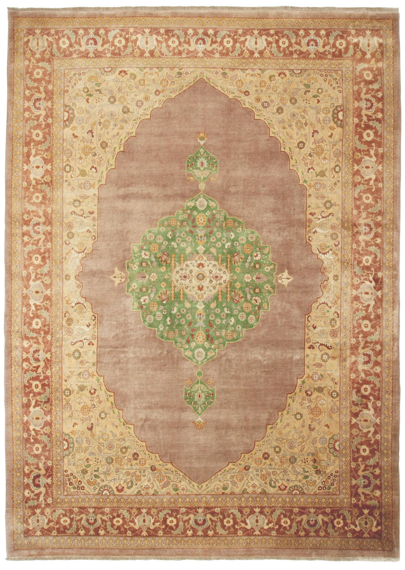 Tabriz Design India-Turco Persian Rug Company Inc.