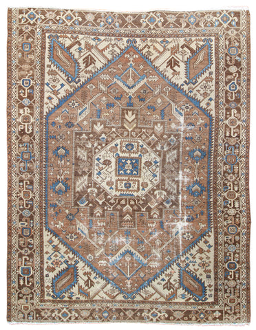 Karajeh Antique Rug-Turco Persian Rug Company Inc.