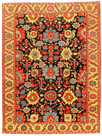 Turkish Heriz Rug-Turco Persian Rug Company Inc.