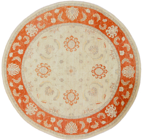 Sultanabad Design Round Rug-Turco Persian Rug Company Inc.
