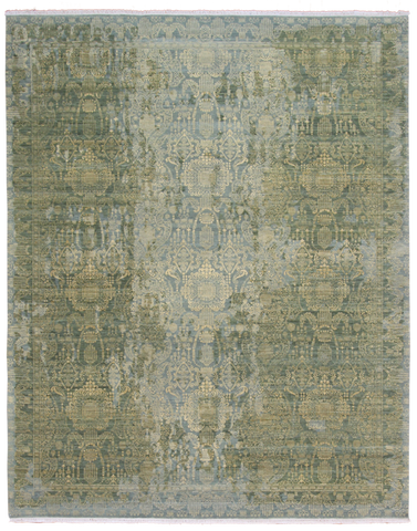 Jewels Green Gold-Turco Persian Rug Company Inc.