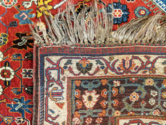 Antique Qashqai Rug-Turco Persian Rug Company Inc.