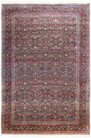 Kerman Rug Antique Oversize-Turco Persian Rug Company Inc.
