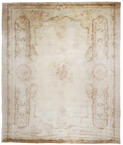 Aubusson Design Spanish Rug-Turco Persian Rug Company Inc.