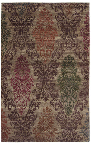Damask Rug Design India-Turco Persian Rug Company Inc.