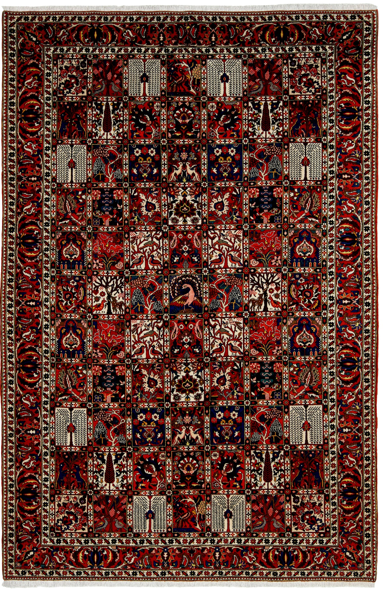 Bakhtiari Rug Panel Design