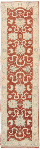 Chobi Runner Rust Field-Turco Persian Rug Company Inc.