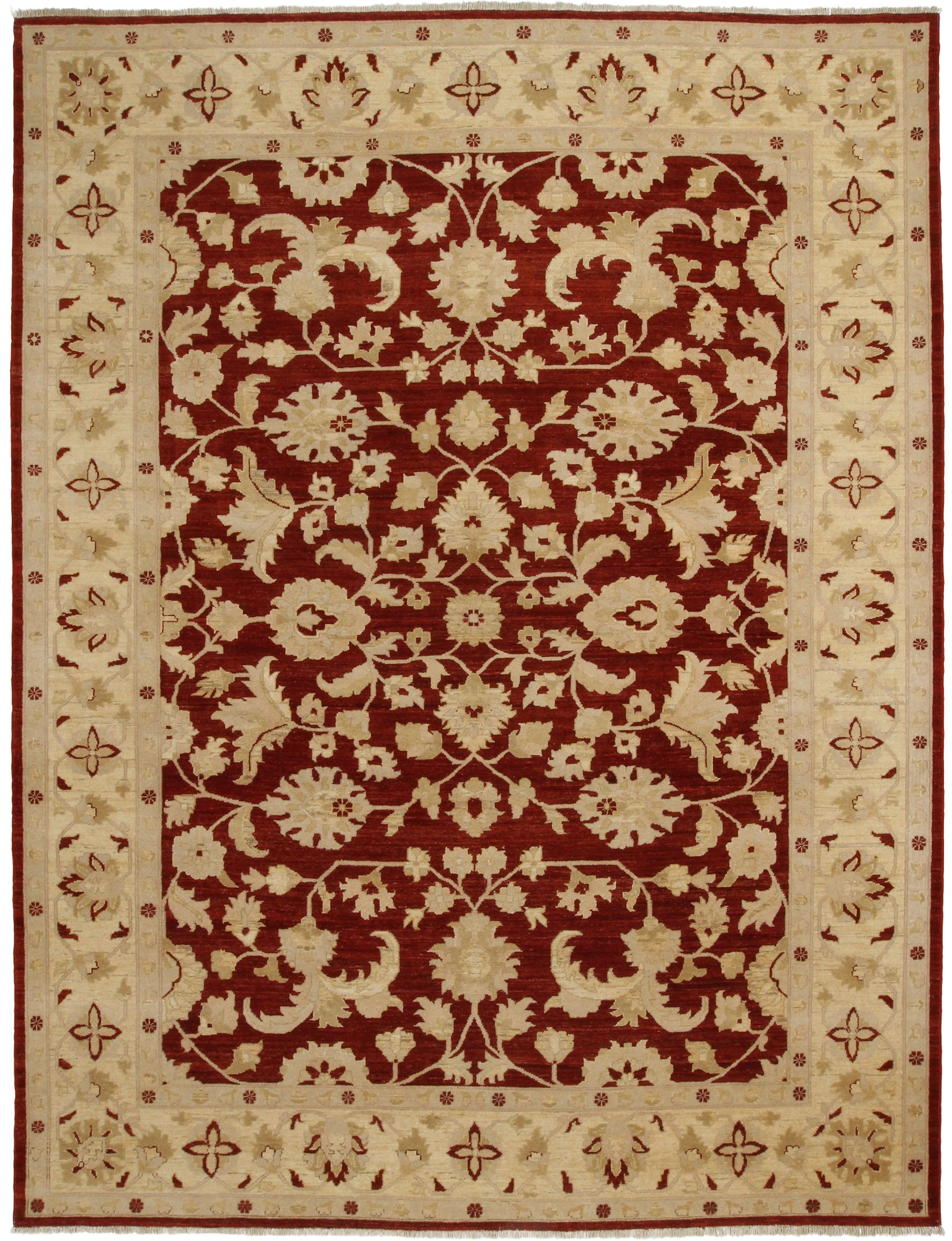Chobi Rug Red Tan-Turco Persian Rug Company Inc.