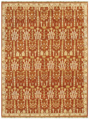 Fields Pumpkin-Turco Persian Rug Company Inc.