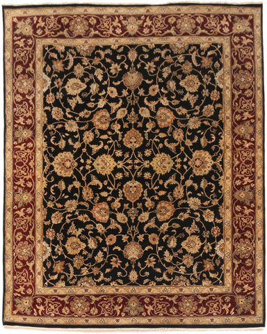Dimora Black Red-Turco Persian Rug Company Inc.