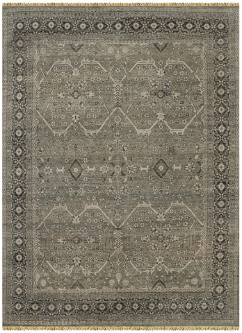 Grey Serapi Transitional Rug