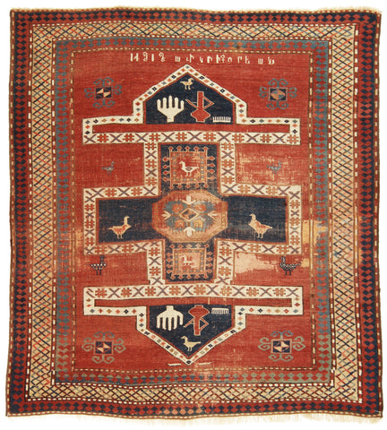 Antique Armenian Rug-Turco Persian Rug Company Inc.
