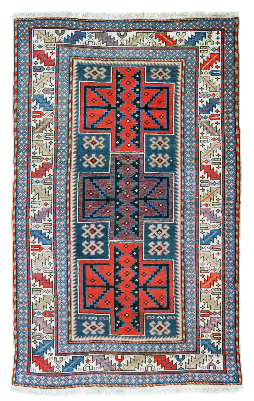 Kazak Antique Rug-Turco Persian Rug Company Inc.