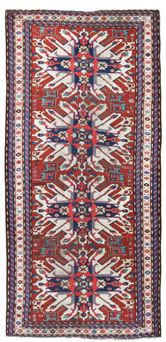 Eagle Kazak Grand Runner-Turco Persian Rug Company Inc.