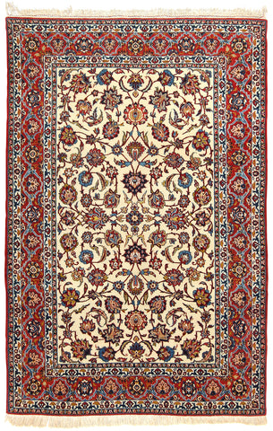 Isfahan Rug Semi-Antique