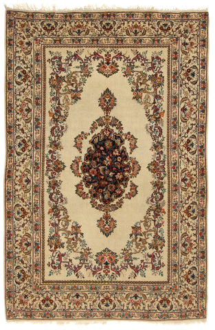 Semi-Antique Nain Rug-Turco Persian Rug Company Inc.