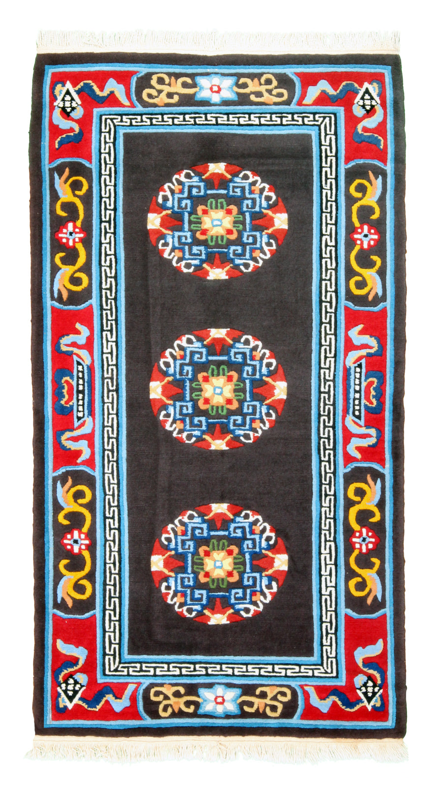 Tibetan Semi-Antique Rug