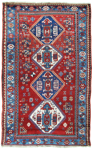 Antique Kazak Rug-Turco Persian Rug Company Inc.