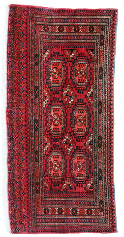 Turkmen Salor Antique Bag Face-Turco Persian Rug Company Inc.