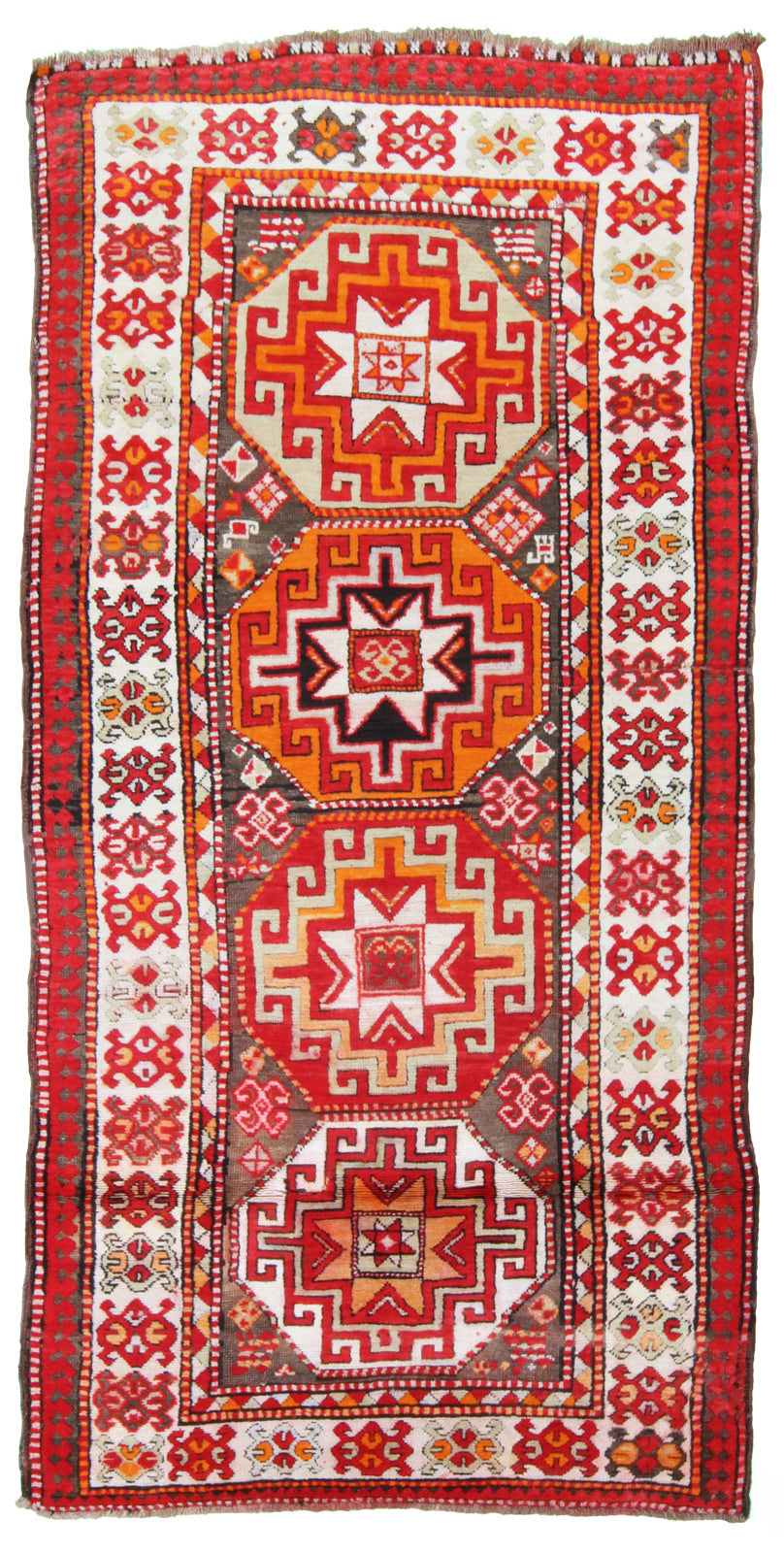 Kazak Orange-Turco Persian Rug Company Inc.