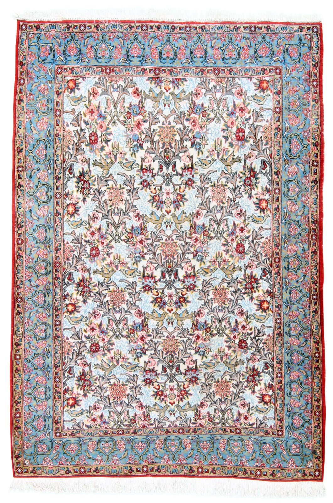 Semi-Antique Qum-Turco Persian Rug Company Inc.