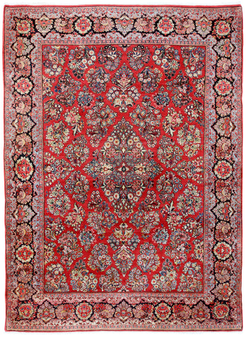 Sarouk Semi-Antique-Turco Persian Rug Company Inc.