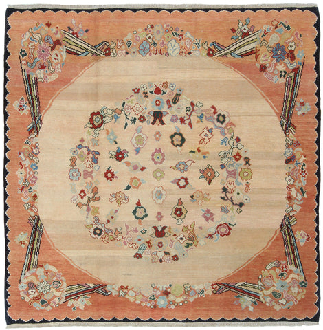 Square Spanish Design Rug Turkey-Turco Persian Rug Company Inc.