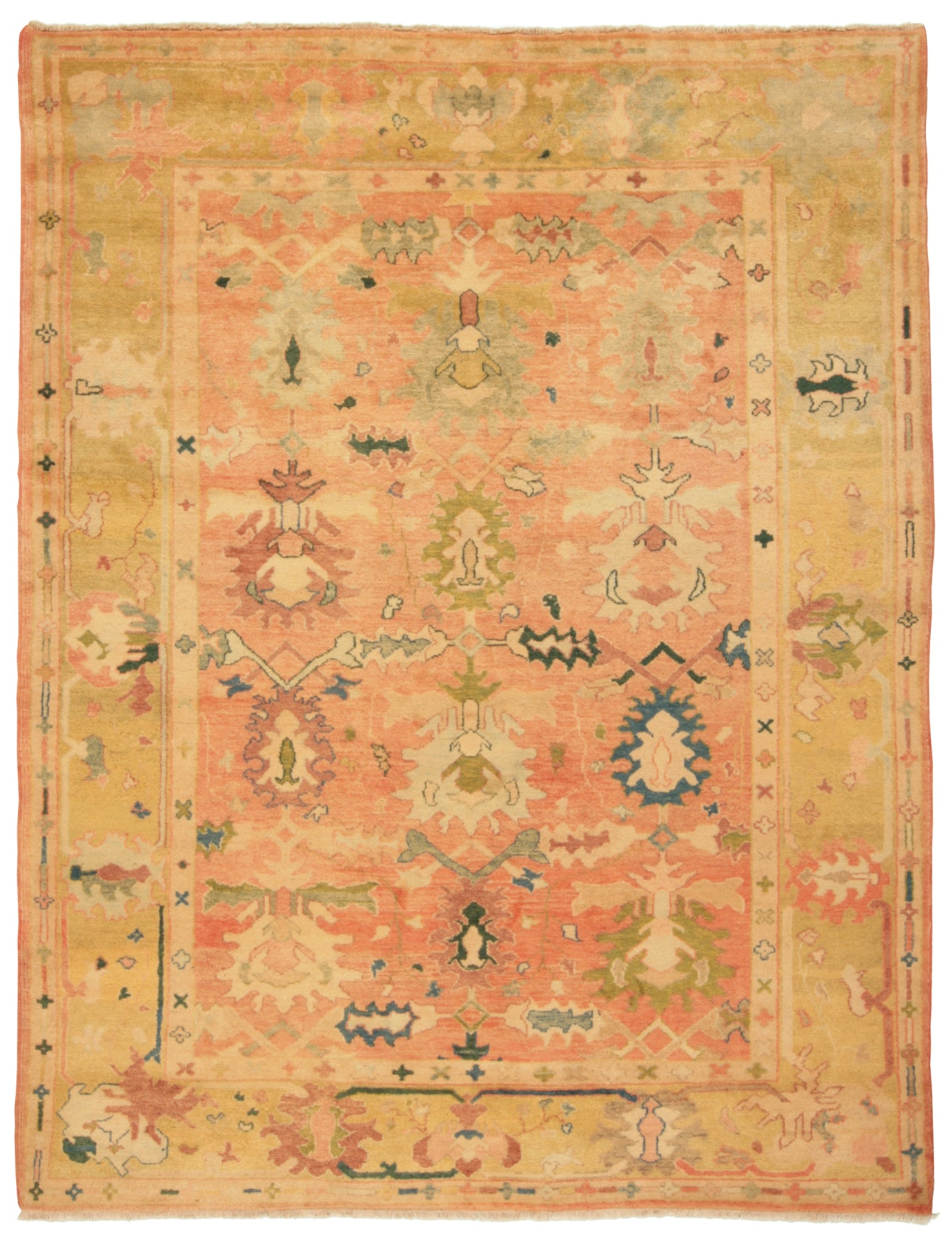 Turkish Sultanabad-Turco Persian Rug Company Inc.
