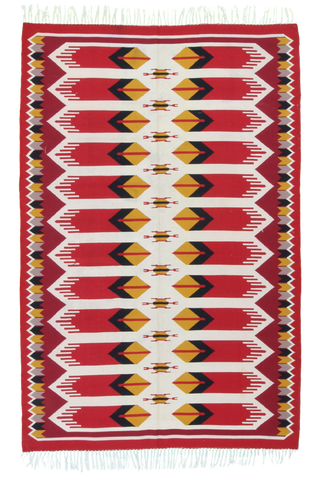 Semi-Antique Turkish Kilim